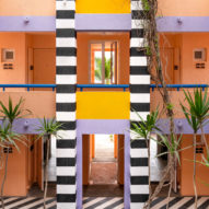 Camille Walala applies vibrant colours and graphics to Salt of Palmar hotel in Mauritius