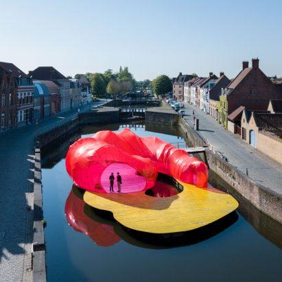 Trienniale Bruges Pavilion by Selgas Cano, Bruges, Beligum