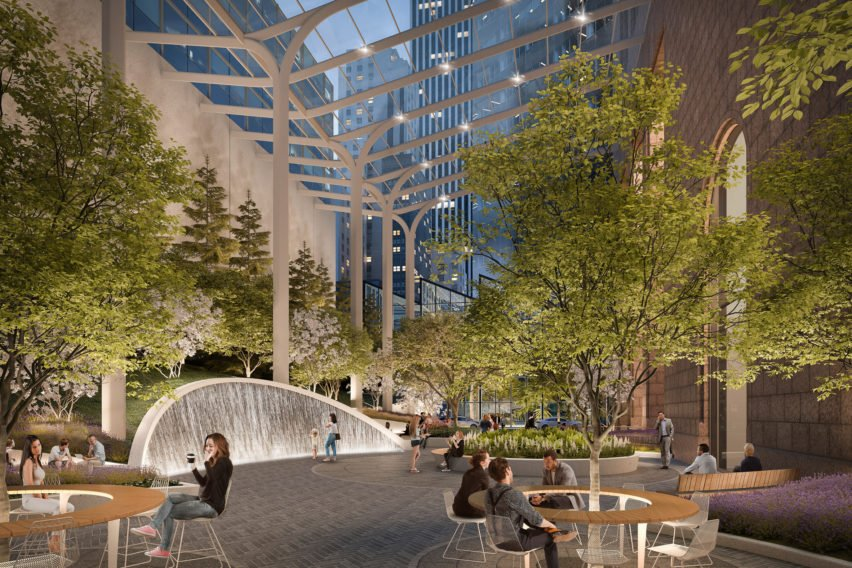 550 Madison proposal by Snøhetta