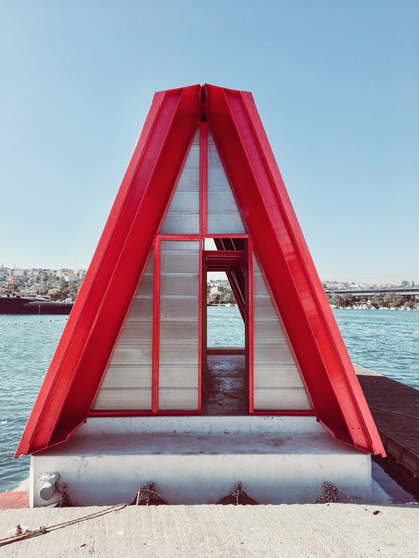 Hope On Water by So? at the Istanbul Design Biennial
