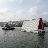 SO? builds prototype floating house for post-earthquake Istanbul
