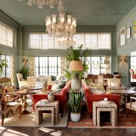 Interiors of Soho House Mumbai