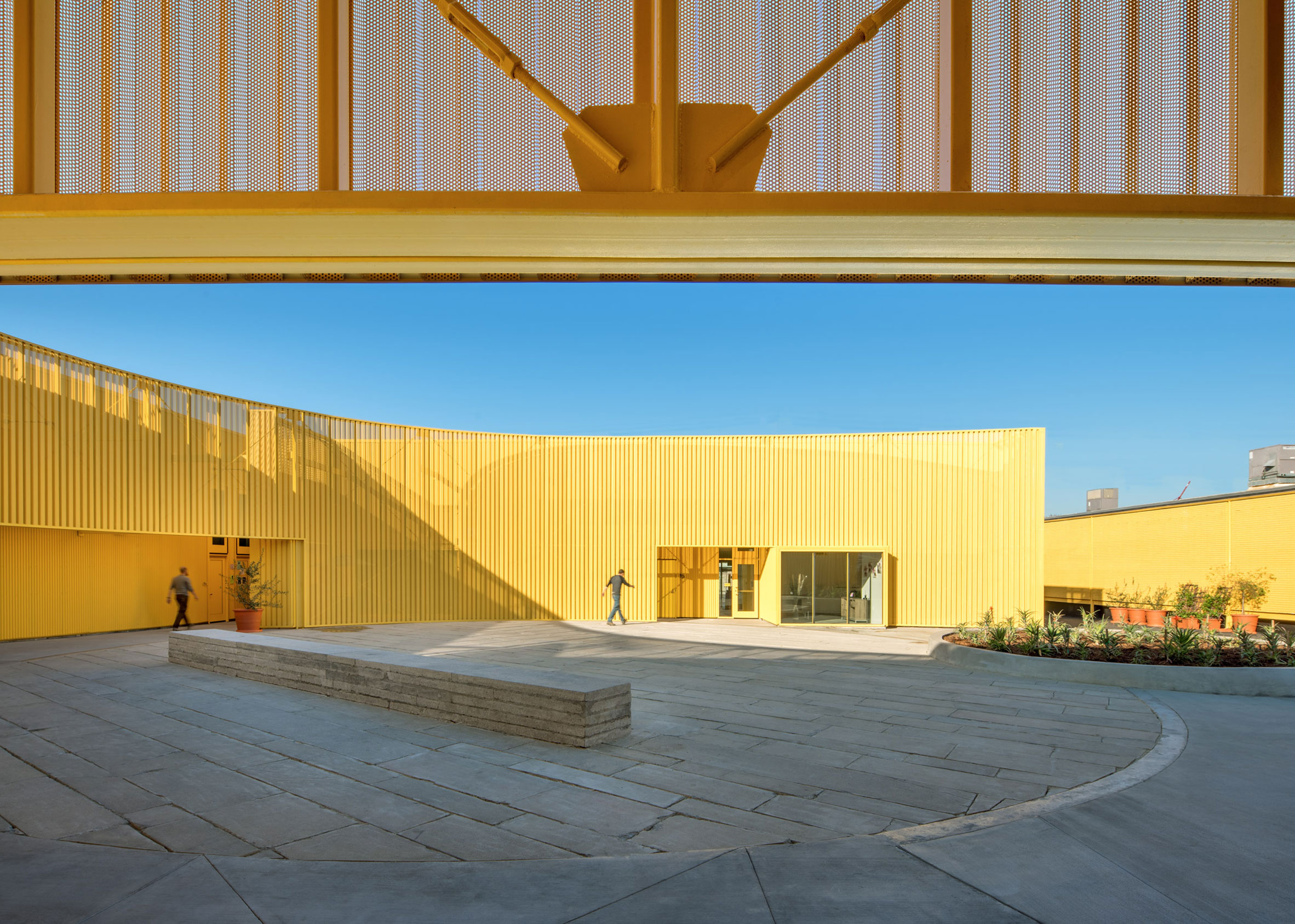 Animo South Los Angeles High School by Brooks + Scarpa