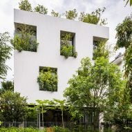 Trees envelop Stepping Park House by Vo Trong Nghia Architects