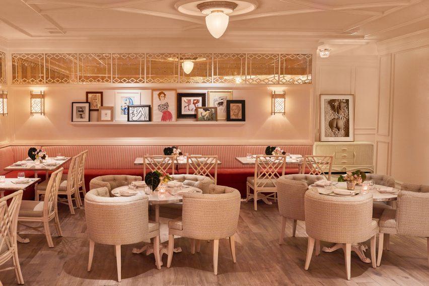 Swan restaurant interior by Ken Fulk