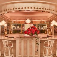 Ken Fulk chooses candy colours for Swan restaurant in Miami