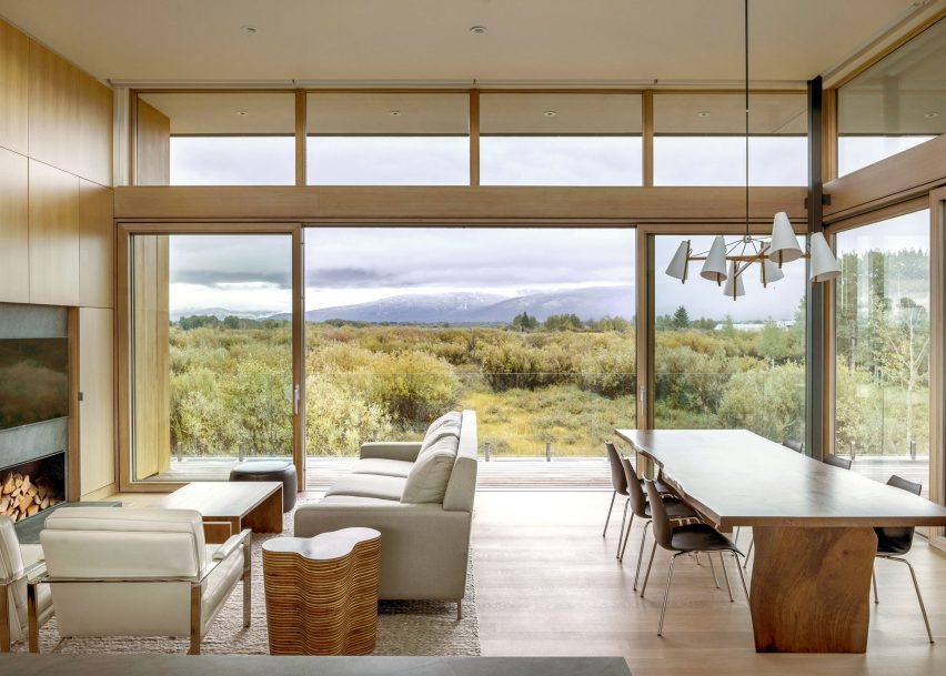 Teton Valley Residence, Idaho, by Ro Rockett Design