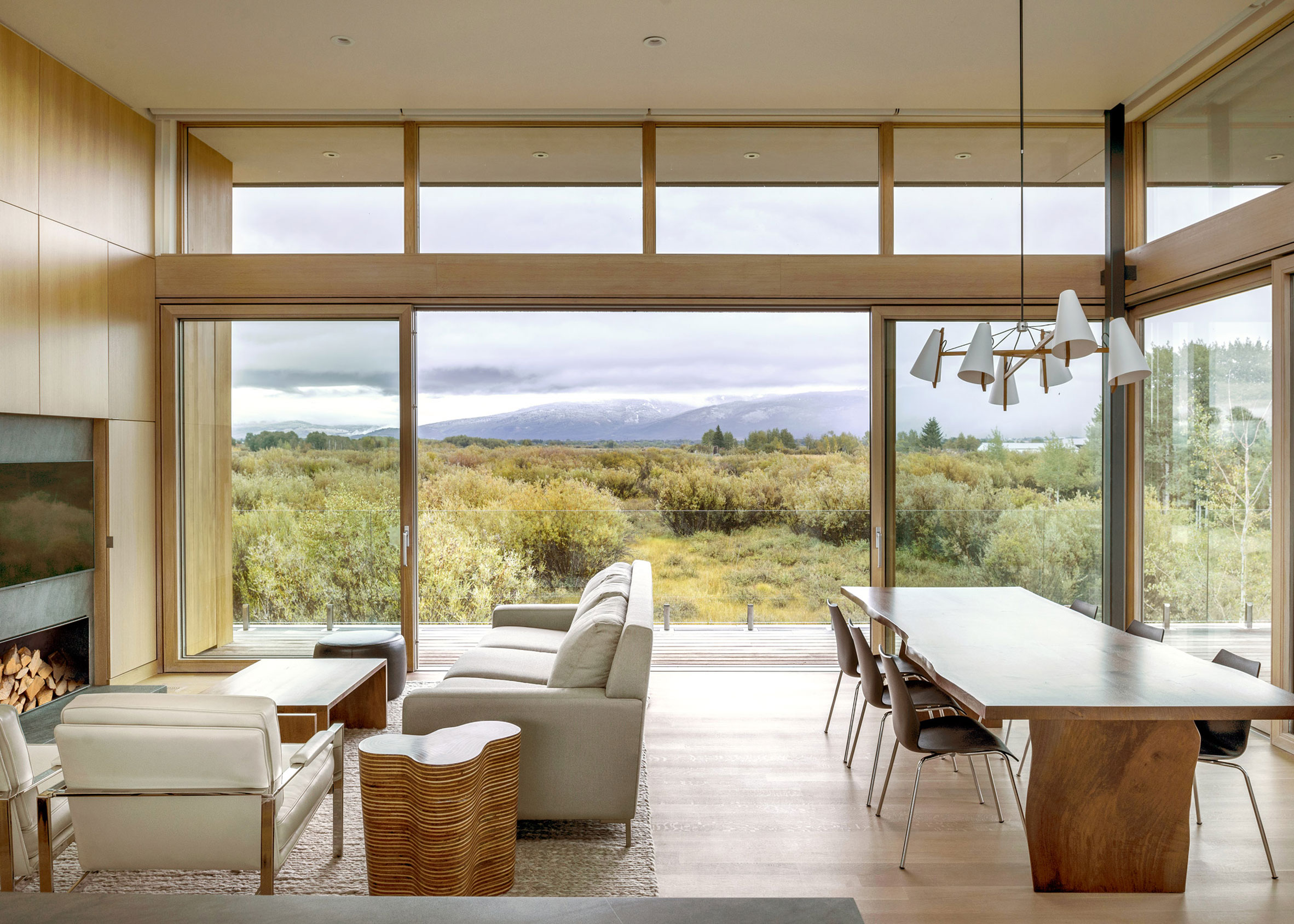 Teton Valley Residence, Idaho, by Ro Rockett Design