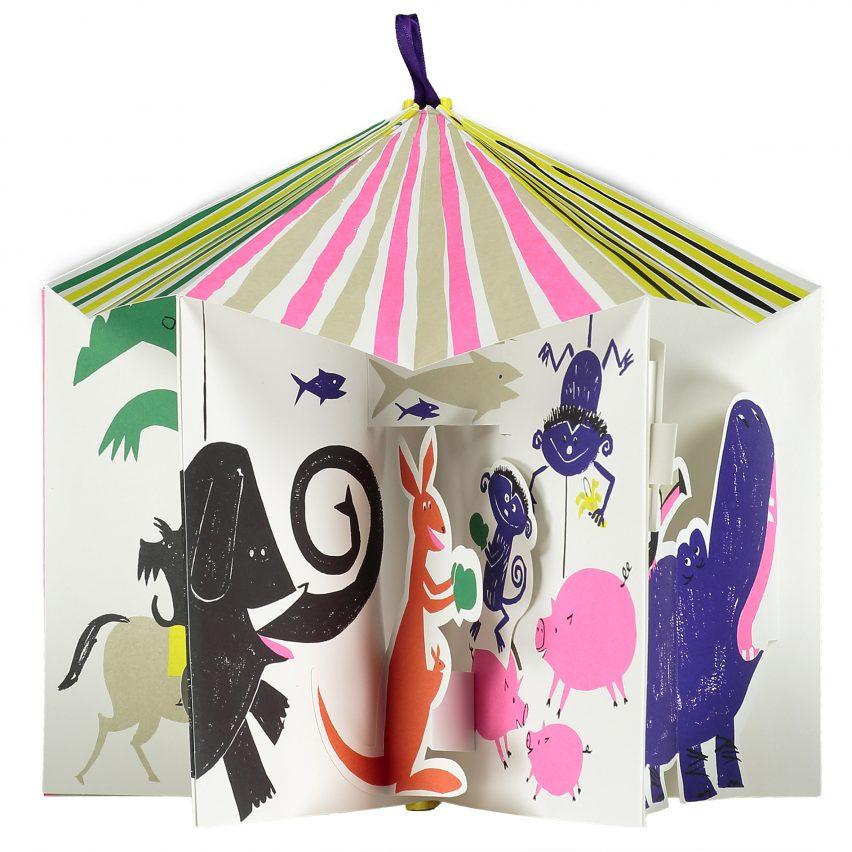 The Carousel of Animals by Gérard Lo Monaco