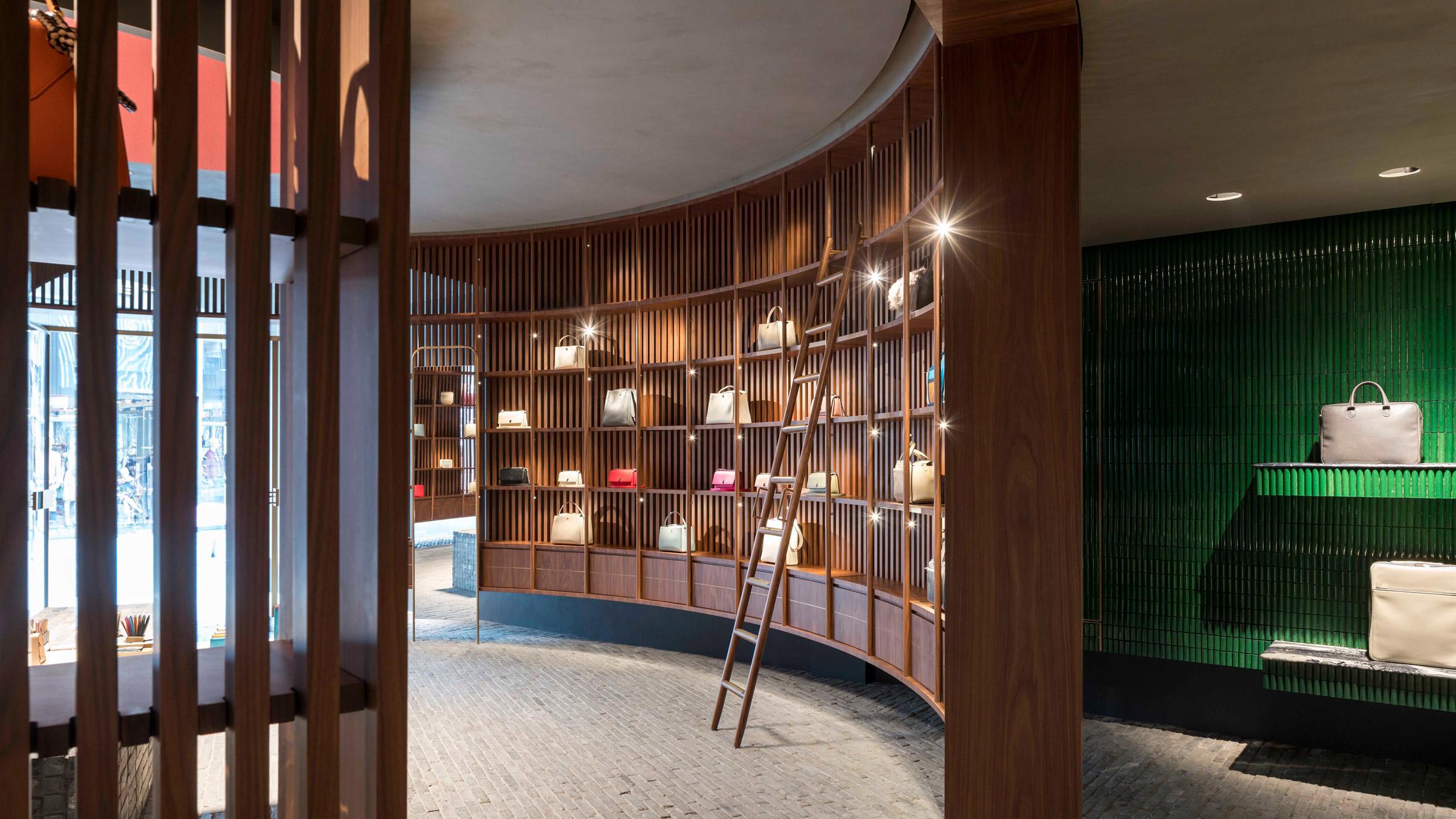 Dezeen's top shop interiors of 2018: Valextra by Neri&Hu
