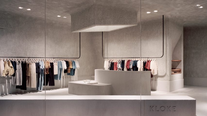 ... Dezeenu0027s Top Shop Interiors Of 2018: Kloke By Studio Goss