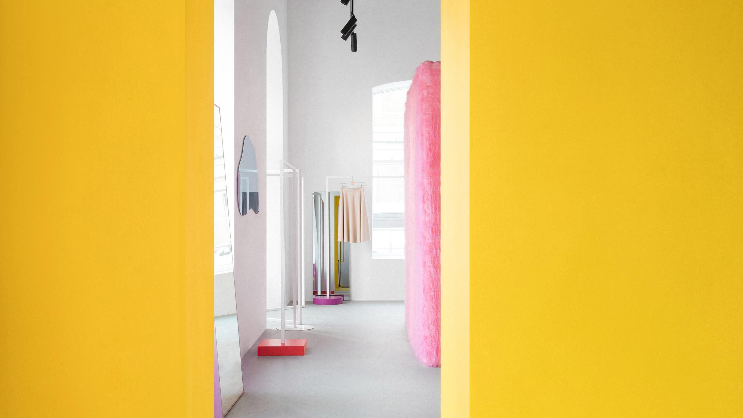 Dezeen's top shop interiors of 2018: Like Shop by Eduard Eremchuk