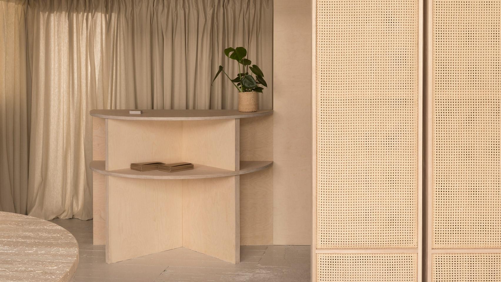 Dezeen's top shop interiors of 2018: RÖ Skin by O'Sullivan Skoufoglou Architects
