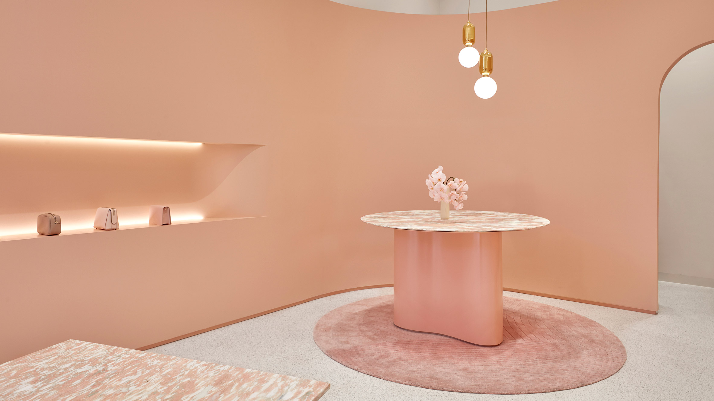 Dezeen's top shop interiors of 2018: The Daily Edited by Pattern Studio