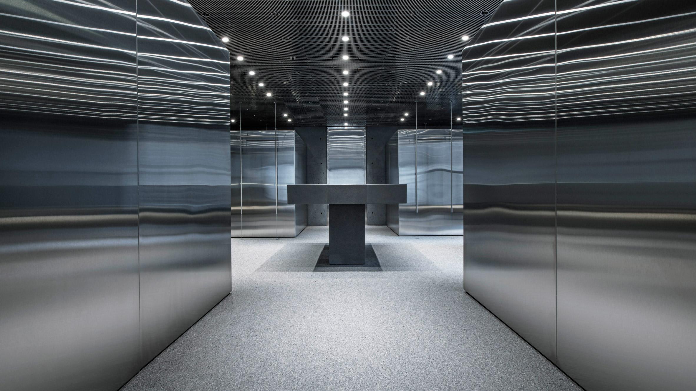 Dezeen's top shop interiors of 2018: Ssense by David Chipperfield Architects