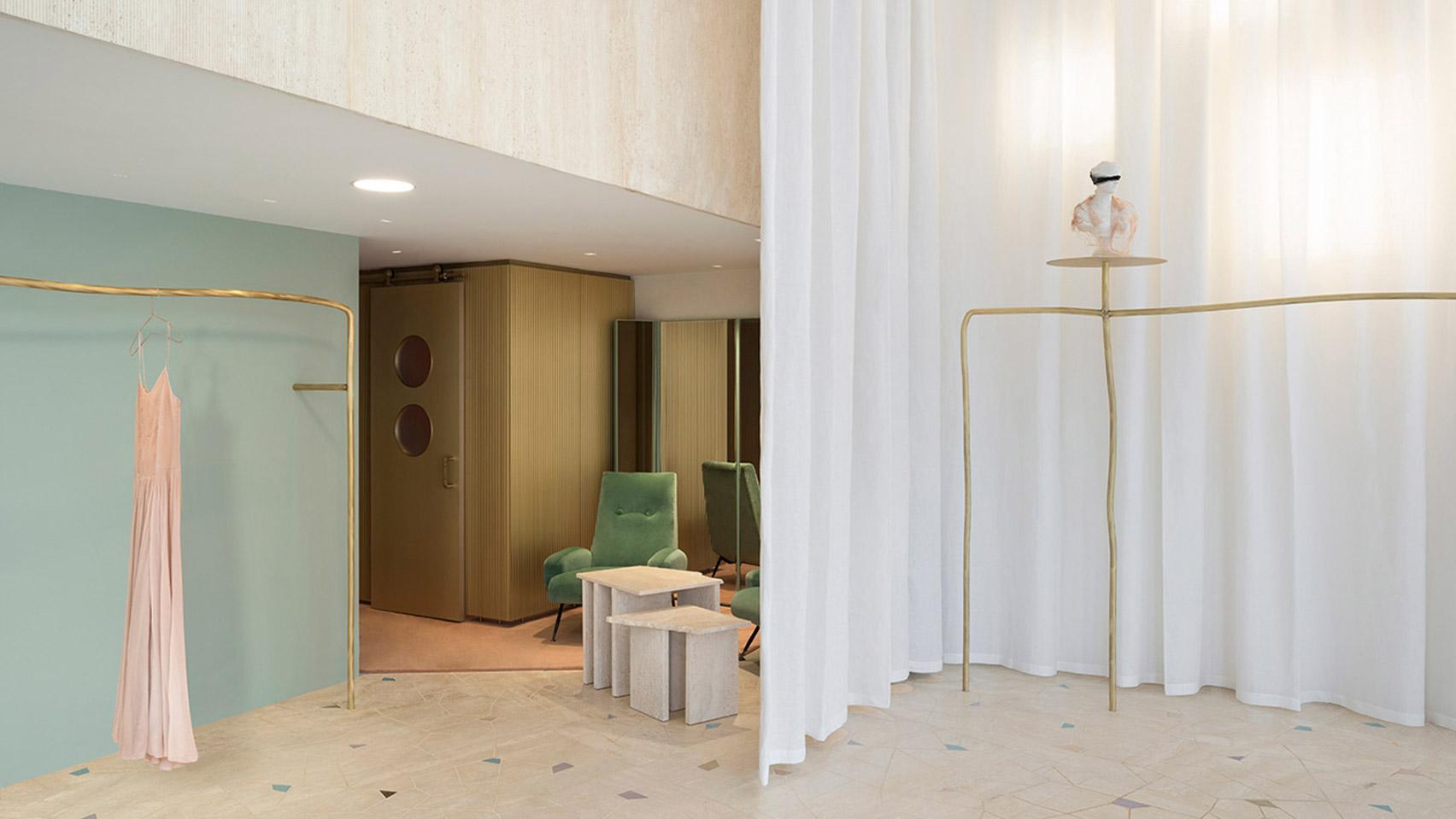 Dezeen's top shop interiors of 2018: Forte Forte by Robert Vattilana