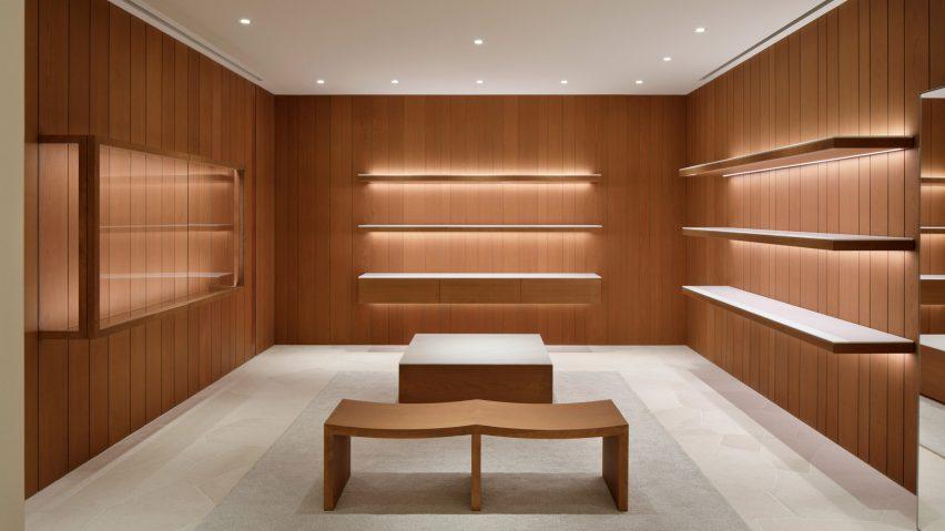 Dezeen's top shop interiors of 2018: Jil Sander by John Pawson