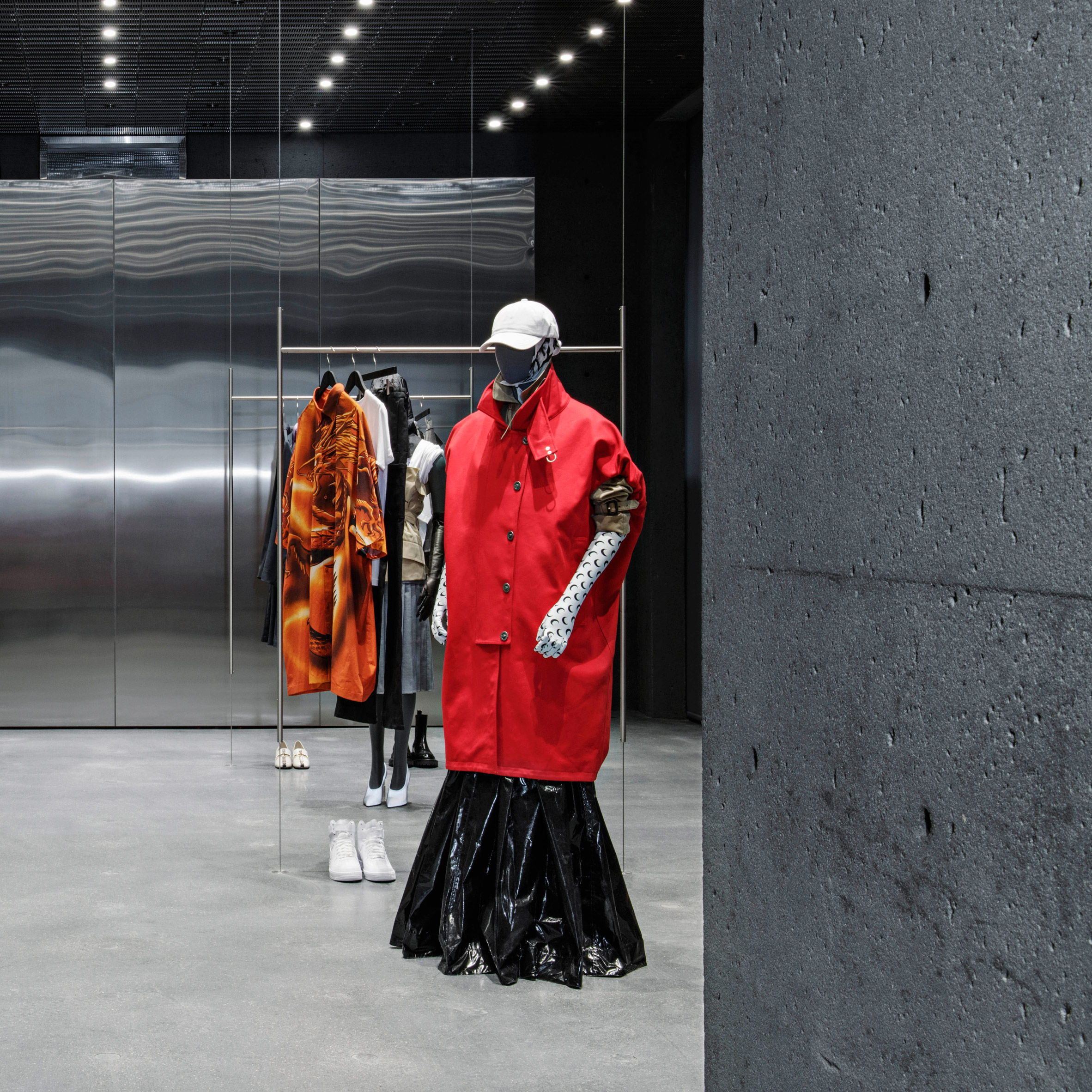 Dezeen's top 10 shops of 2018: Ssense by David Chipperfield Architects