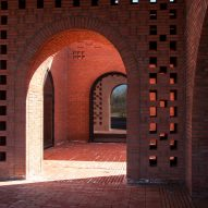 Tower of Bricks art centre in China by Interval Architects