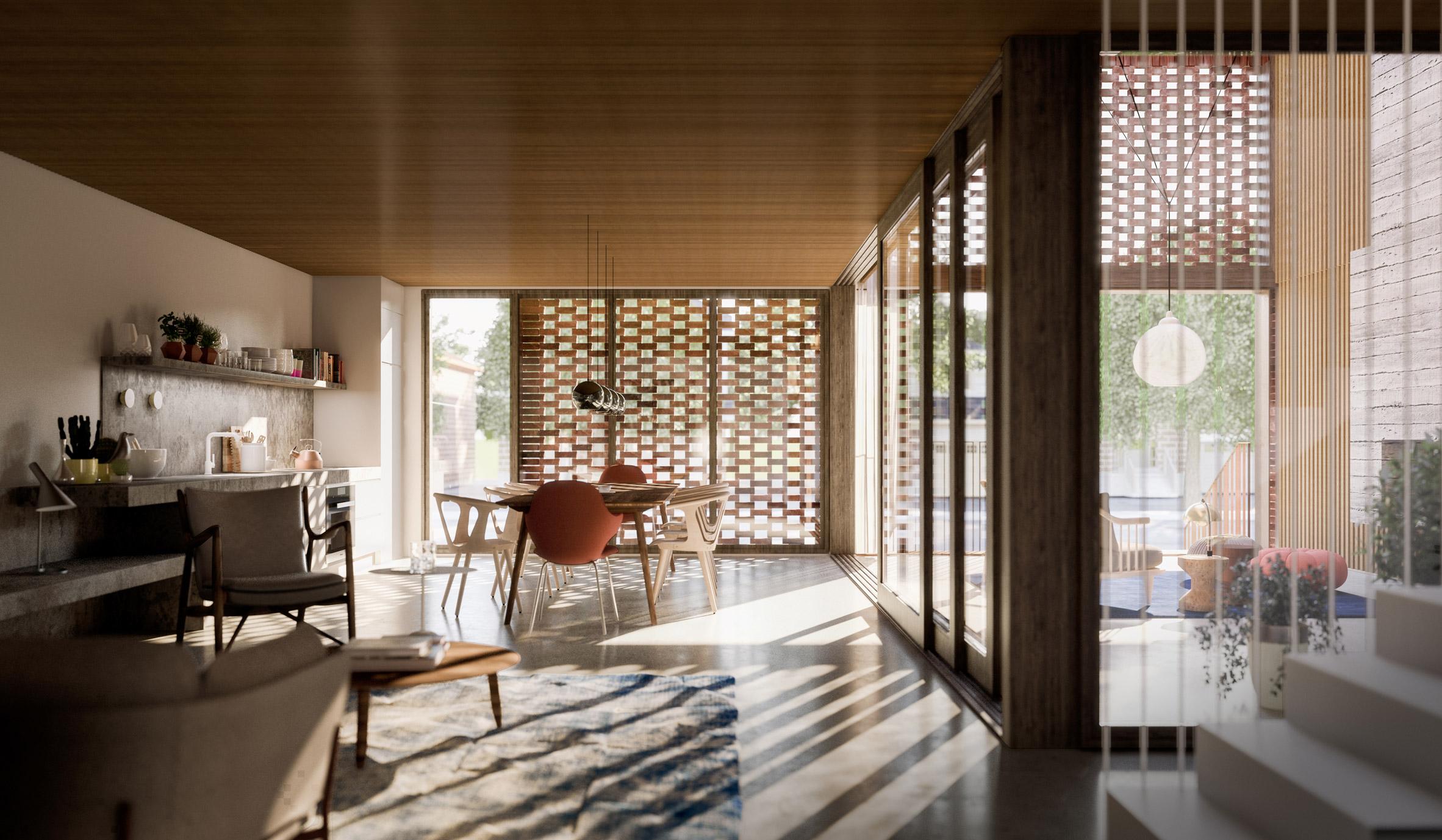 Triple Duplex by Batay-Csorba