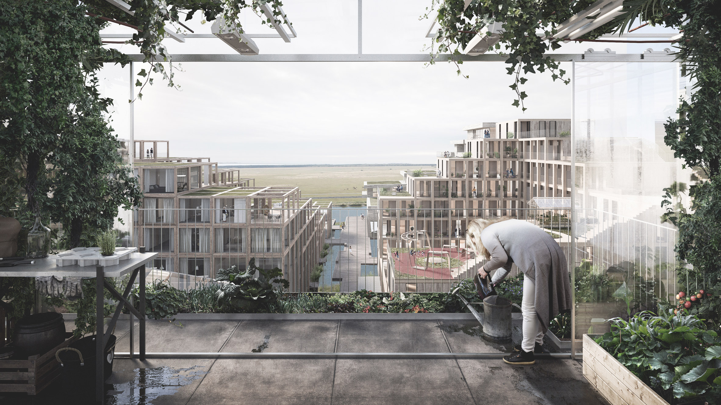 UN17 Village to be built in Copenhagen with recycled materials by Lendager Group andÅrstiderne Arkitekter