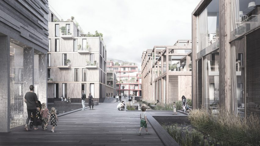 UN17 Village to be built in Copenhagen with recycled materials by Lendager Group and Årstiderne Arkitekter