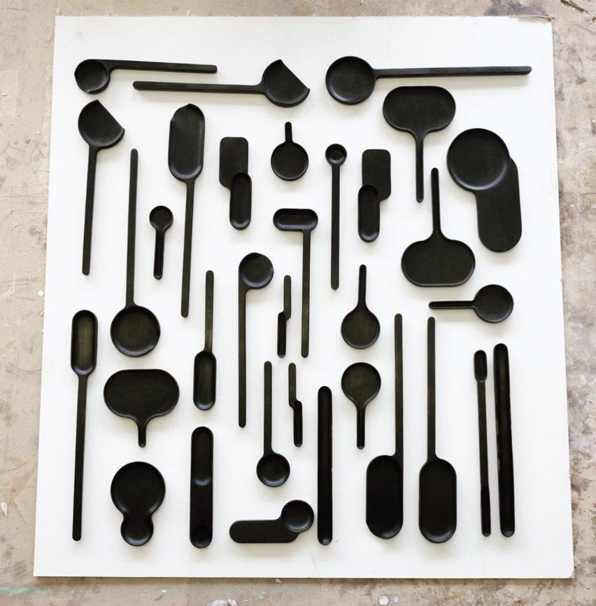 Bone and utensils by Loic Bard