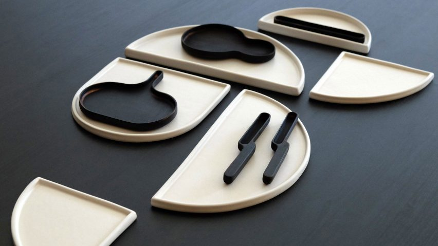 Bone utensils by Loïc Bard