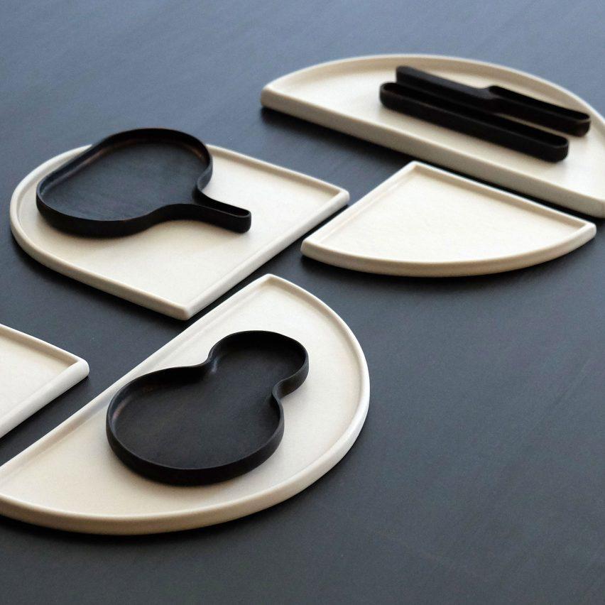 Bone utensils by Loïc Bard