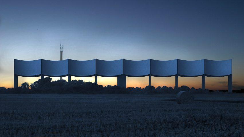 VÅGA water tower by White Arkitekter, Varberg, Sweden