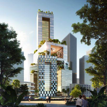 Vanke 3D City by MVRDV