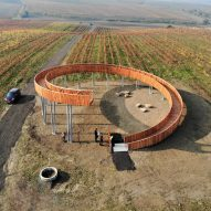 Keeo4design builds spiralling viewpoint in a Czech hilltop vineyard