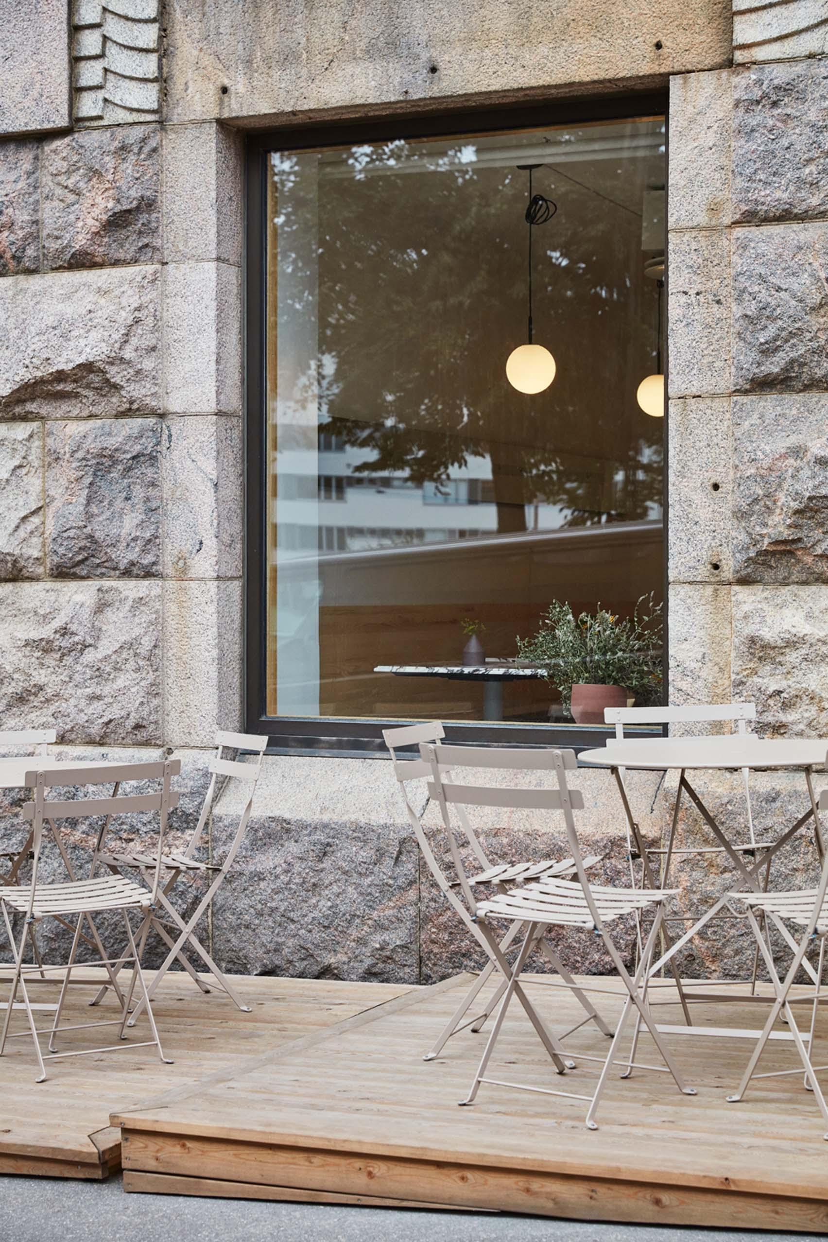 WAY bakery and wine bar in Helsinki by Studio Joanna Laajisto