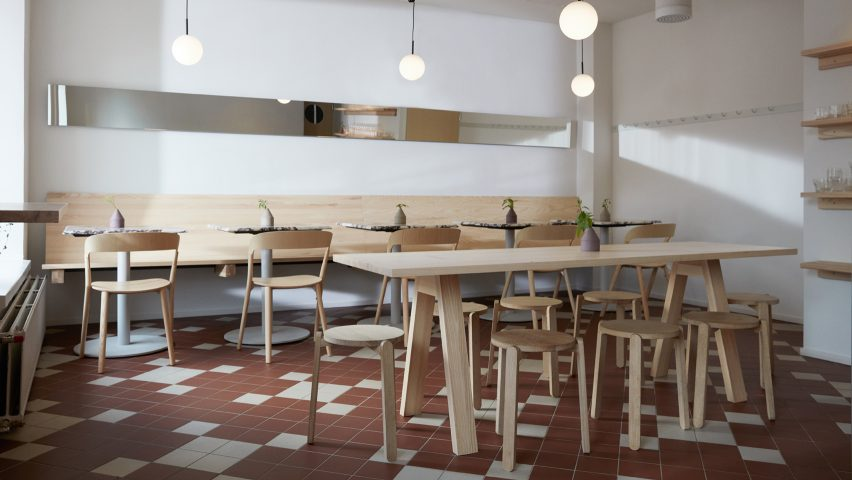 WAY bakery and wine bar in Helsinki by Studio Joanna Laajisto