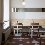 Studio Joanna Laajisto designs The Way bar in Helsinki to reflect its organic menu
