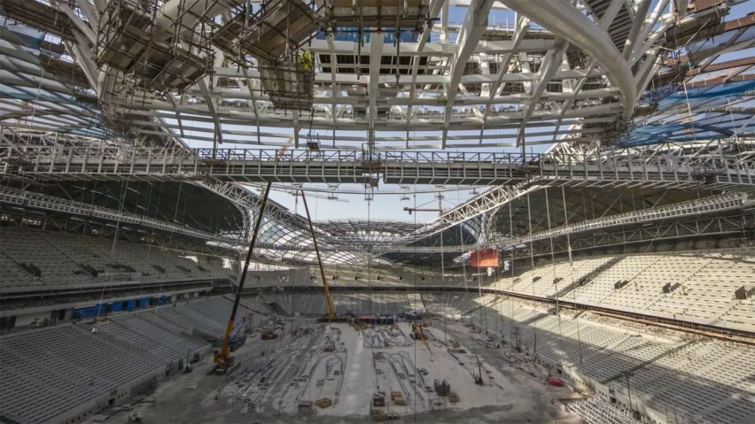 Al Wakrah Stadium by Zaha Hadid Architects for Qatar 2022 World Cup