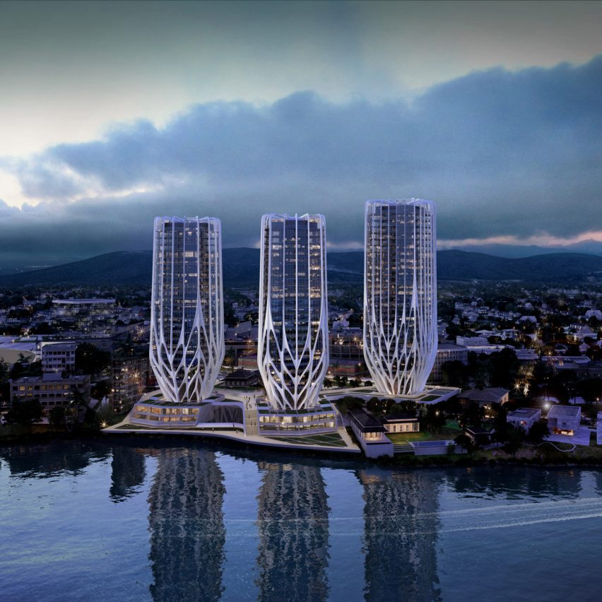 Zaha Hadid Architects' trio of Brisbane skyscrapers dropped