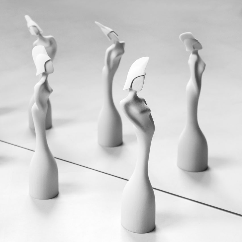 Seven trophy designs: Brit Awards 2017 trophy by Zaha Hadid