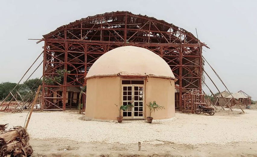 Alternative architecture trends: Zero Carbon Cultural Centre in Pakistan. Photograph: Pakistan Heritage Foundation