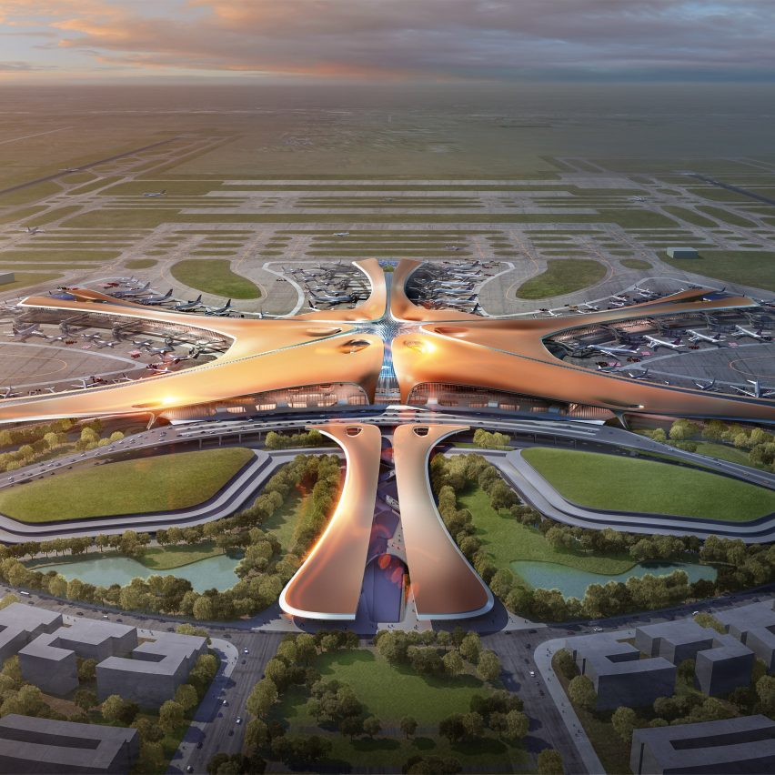 12 new buildings to look forward to in 2019: Beijing New Airport, China, by Zaha Hadid