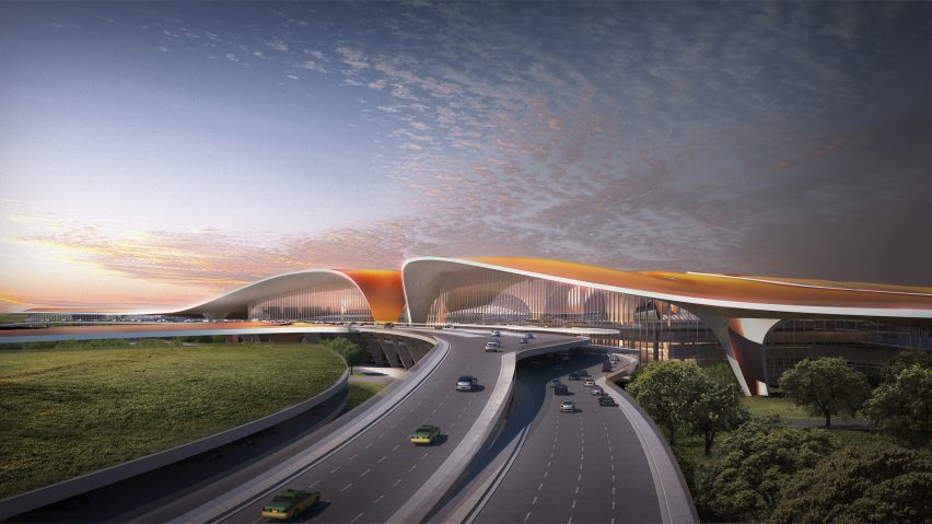 Beijing New Airport by Zaha Hadid