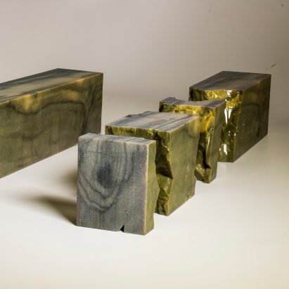 """3D-printed """"wood"""" by Columbia University"""