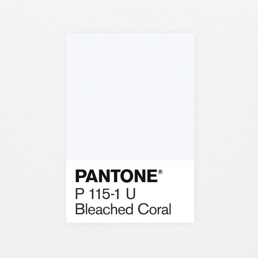 Bleached Coral Jack and Huei Pantone
