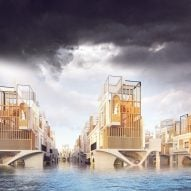 The D*Haus Company designs flood-resistant homage to Georgian architecture