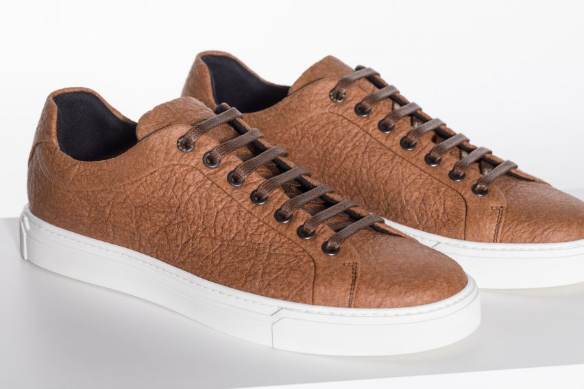 Hugo Boss Pinatex vegan shoes