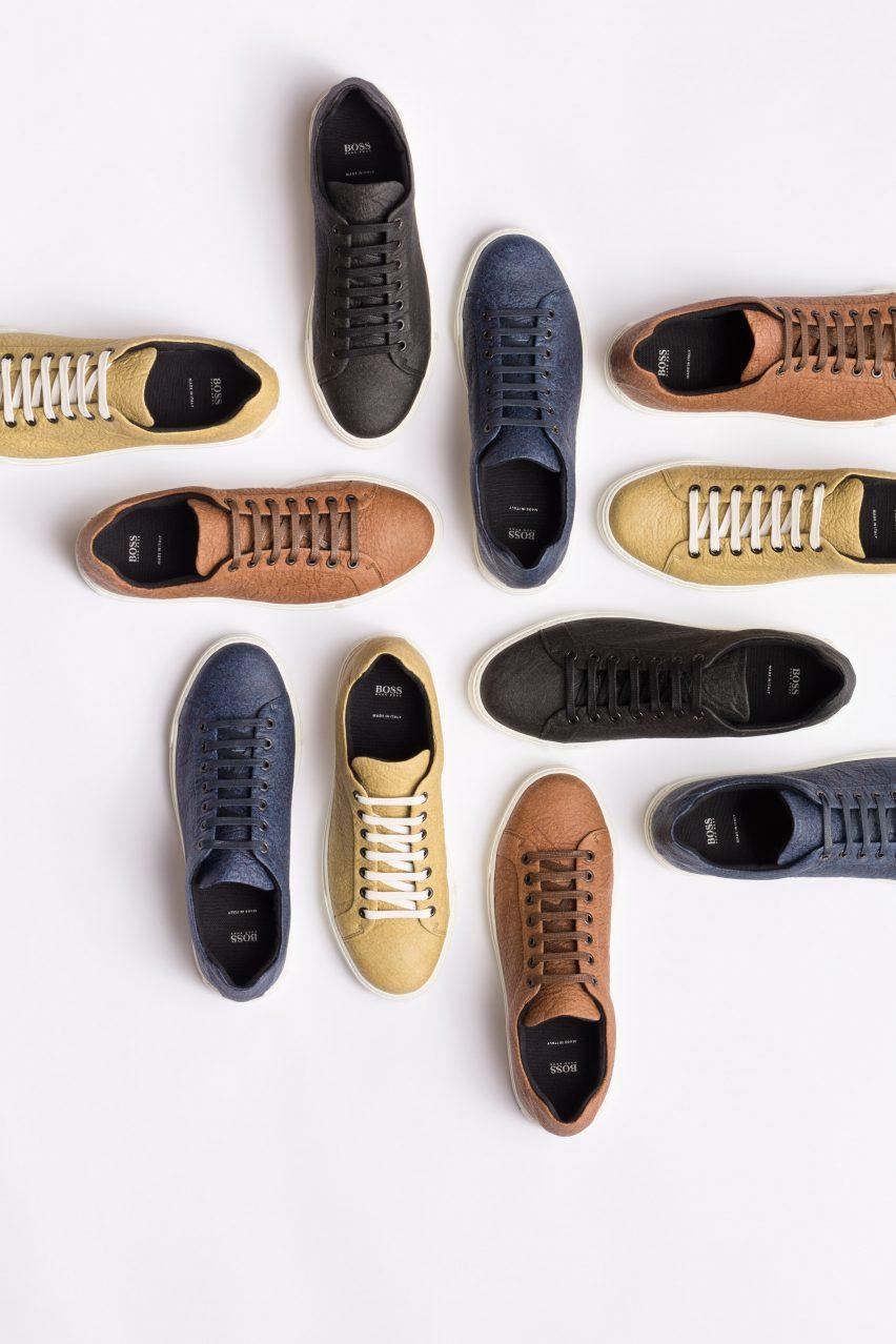 Hugo Boss designs vegan shoes that