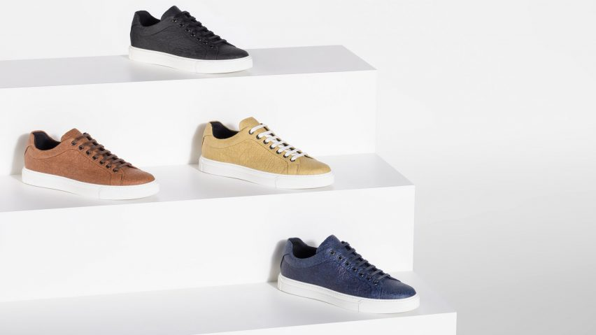 fa84c37fdbfc Hugo Boss designs vegan shoes that replace leather with pineapple-based  material