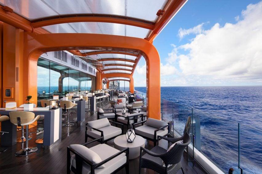 Kelly Hoppen Celebrity Edge cruise