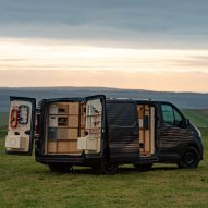 Nissan's NV300 concept van is a mobile hub for artisans and craftsmen