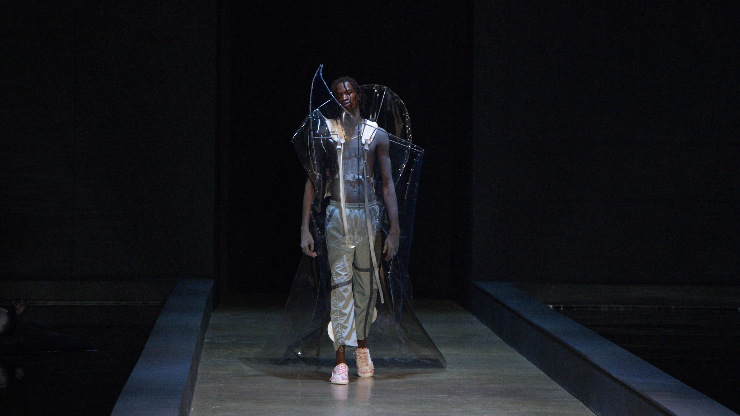 Plastic Is Trend At London Fashion Week Men S Autumn Winter 2019